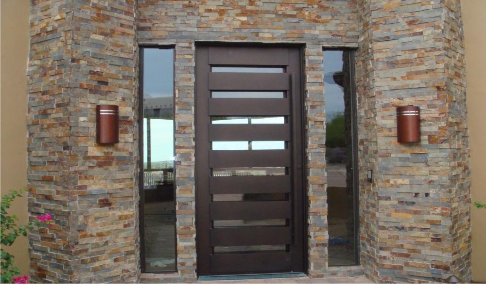 Steel doorse custom steel door for Modern screen door