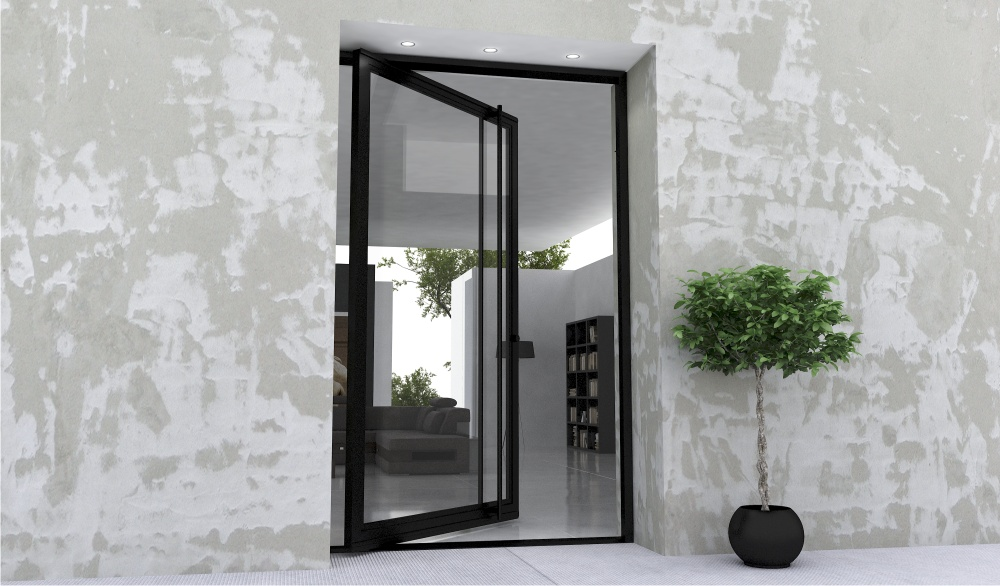 Pivot Glass Doors Exterior Glass Door Ideas