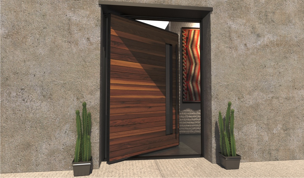 Gallery For Contemporary Residential Front Doors