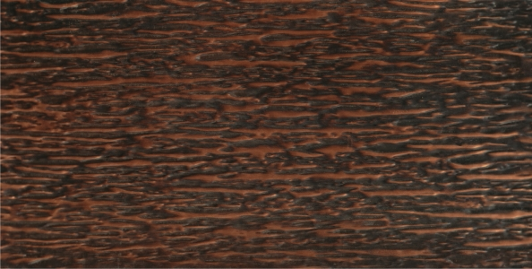 "COPPER TARNISH HORIZONTAL TEXTURE (36"" x 96"" max)"