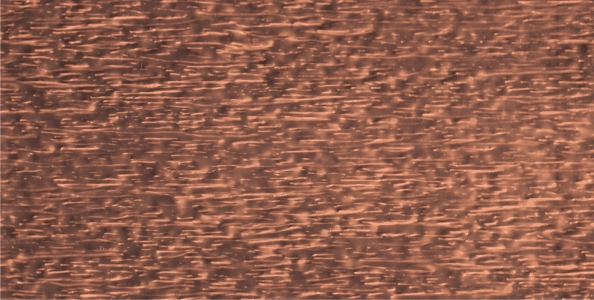 "COPPER HORIZONTAL TEXTURE (36"" x 96"" max)"