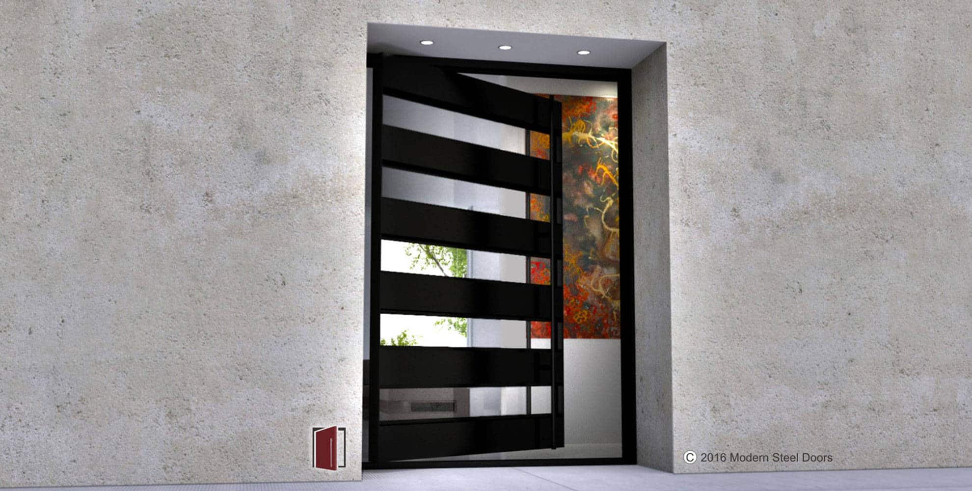 Modern steel doors for Steel entry doors with glass