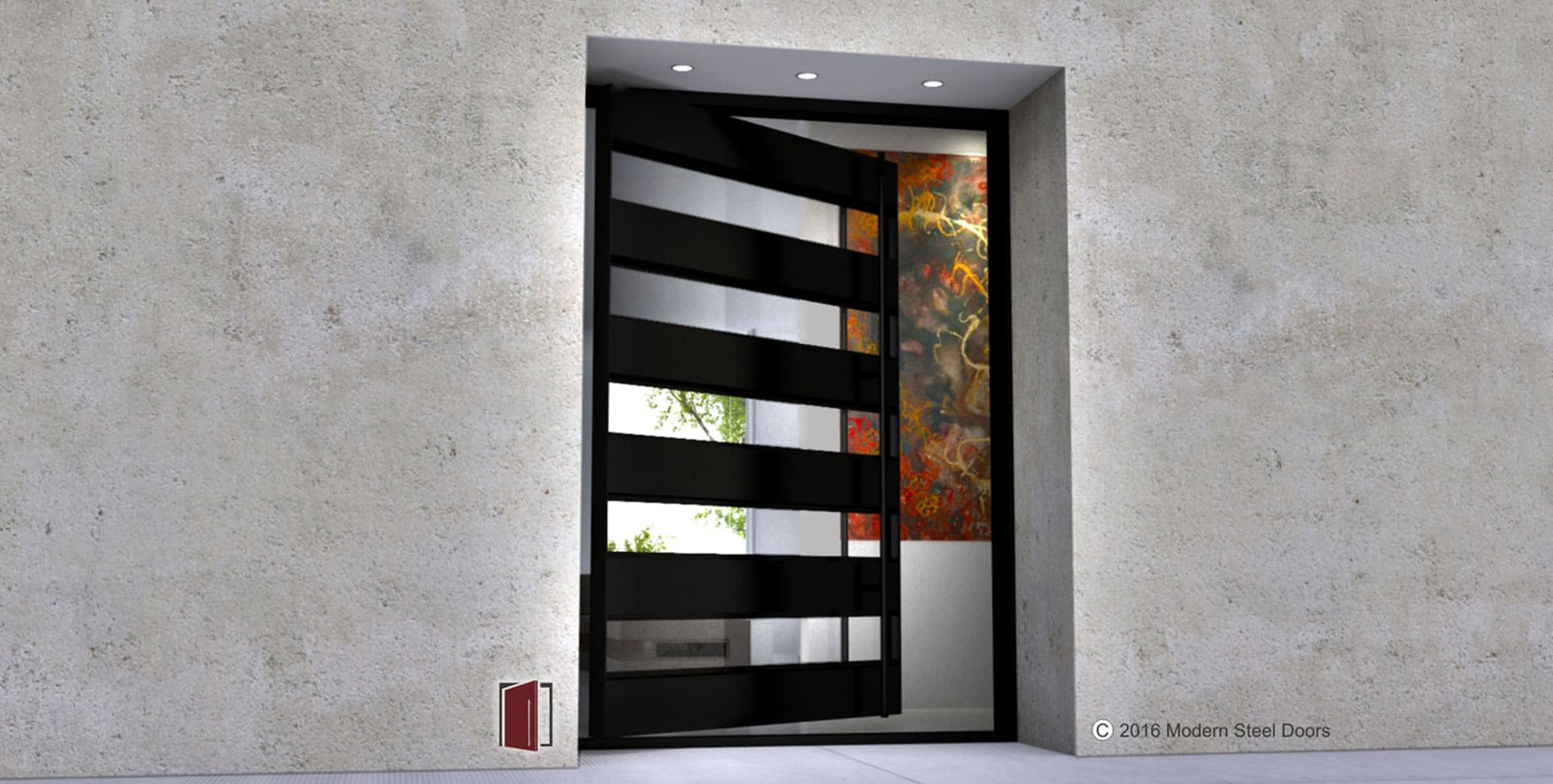 1000 #6E3E28 Modern Steel Doors save image Metal Front Doors With Glass 40471980